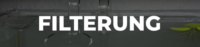Menü Aquarium Filter
