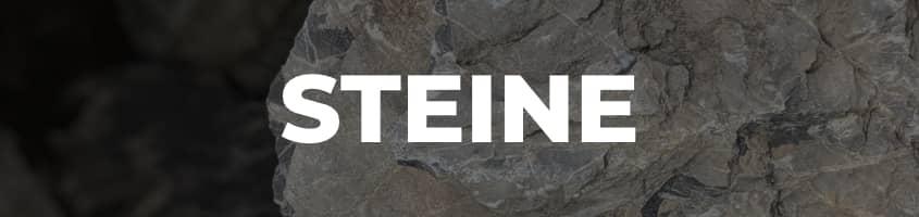 Menü Steine Header