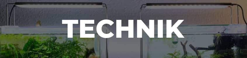 Menü Technik Aquarium